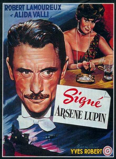 Cette moustache qui donne du panache dans Mon chauffeur, mes bonnes et moi arsene-lupin
