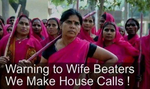 Les justicières de l'Uttar Pradesh dans Je l'ai lu dans le journal! pinkgang